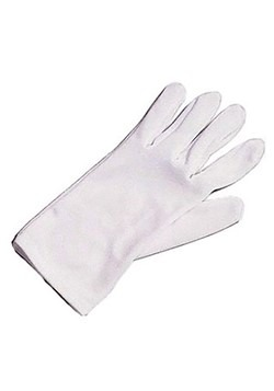Youth White Costume Gloves