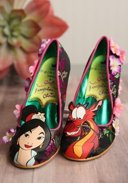 Irregular Choice Disney Princess Mulan Let Dreams Blossom