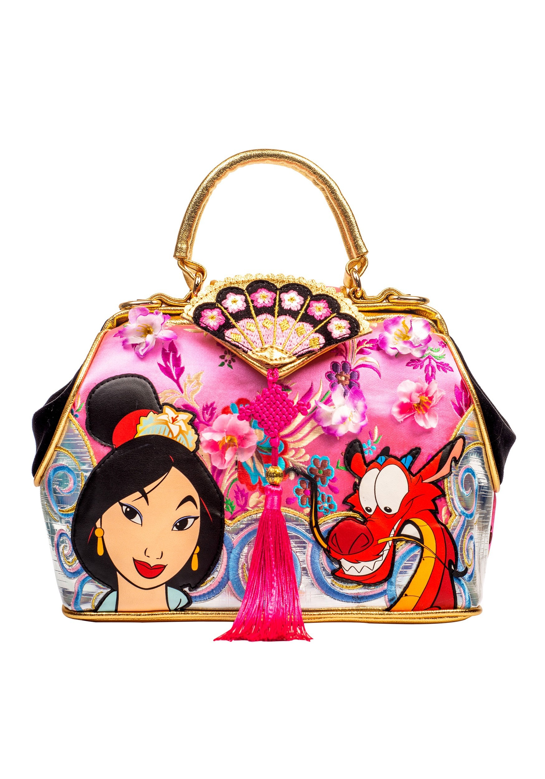 Irregular Choice Disney Princess Mulan 'Let Dreams Blossom' Handbag