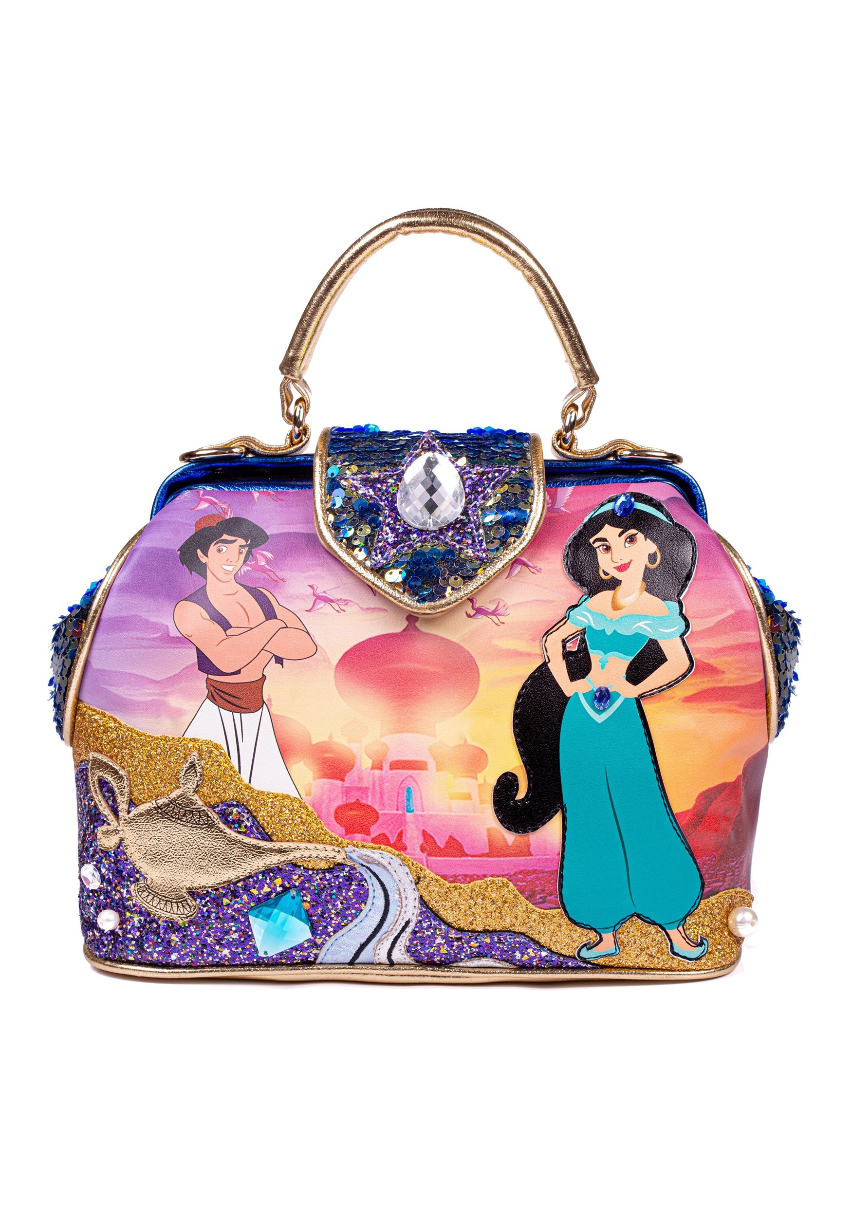 Irregular Choice Disney Princess- Aladdin 'A Whole New World' Bag