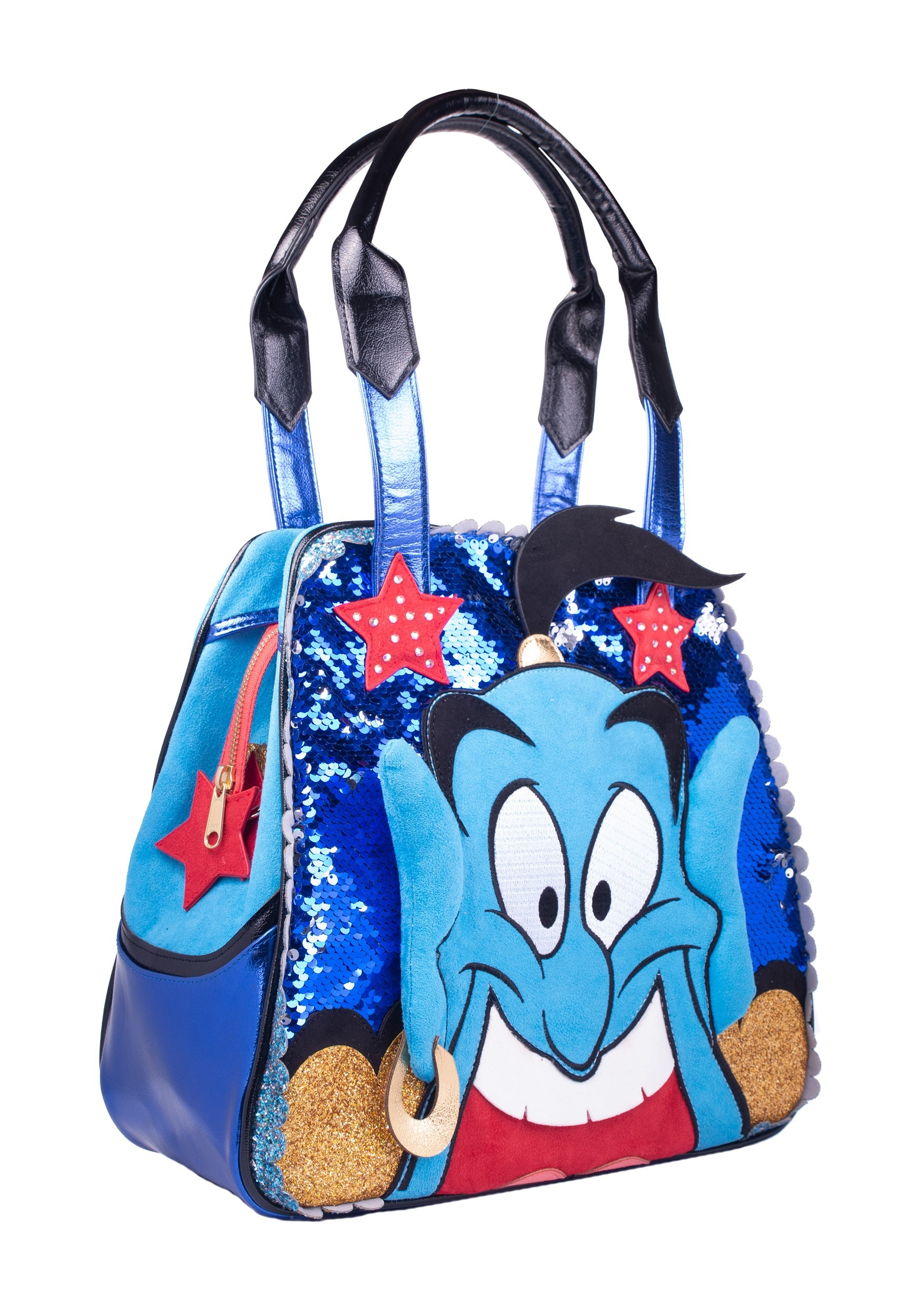 Irregular Choice- Disney Princess Aladdin Genie Hand Bag