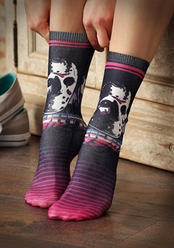 Friday the 13th Jason 80s Neon Sublimated Socks