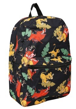 Lion King Classic Print Backpack Alt 1
