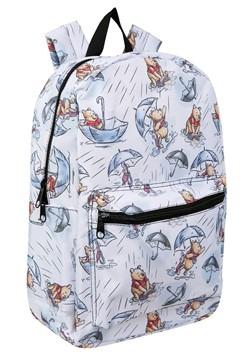 Winnie the Pooh Rain Print Backpack Alt 1