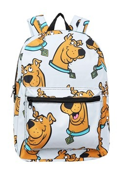 Scooby Doo Floating Heads Grey Backpack