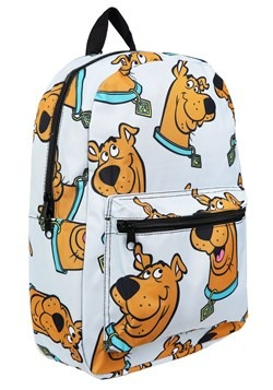 Grey Scooby Doo Floating Heads Backpack