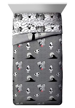 Nightmare Before Christmas Moonlight Queen Bed In A Bag A3