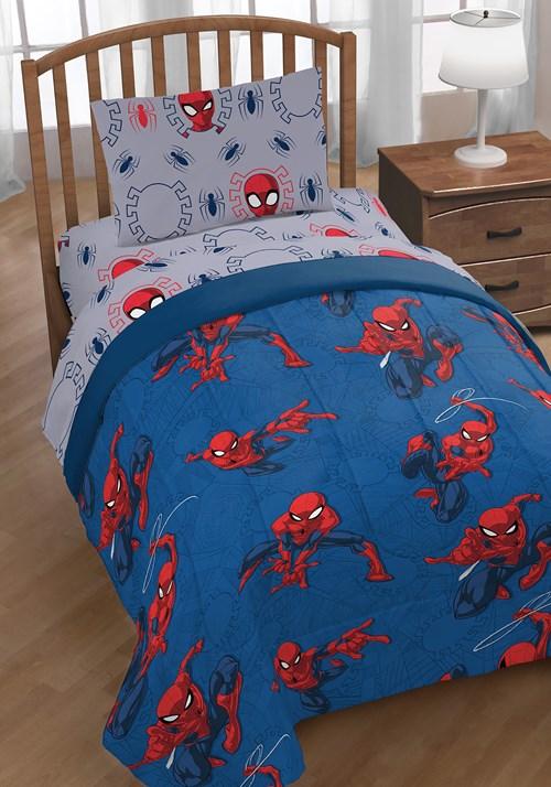 Spider-Man Spidey Crawl Twin Bed Set