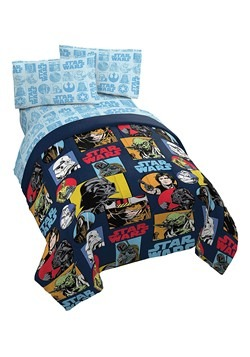 STAR WARS GALACTIC GRID TWIN BED IN A BAG