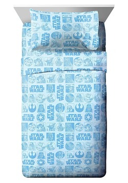STAR WARS GALACTIC GRID TWIN BED IN A BAG Alt 1
