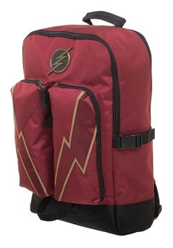DC Comics Flash Double Pocket Backpack