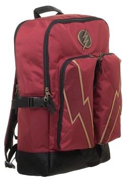DC Comics Flash Double Pocket Backpack Alt 3