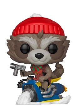 Pop! Marvel: Holiday- Rocket