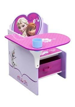 Frozen Chair Desk with Storage Bin