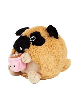 "Squishable 7"" Pug Holding a Mug Alt 2"