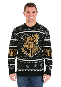 Harry Potter Hogwarts Ugly Christmas Sweater Alt 2