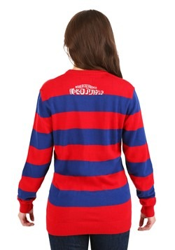 My Hero Academia Striped Sweater Alt 1