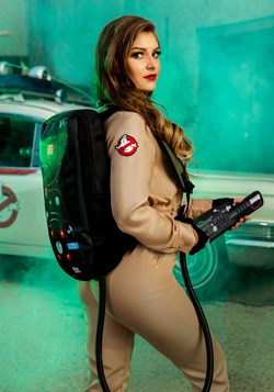 Ghostbusters Costume Jumpsuit for Women