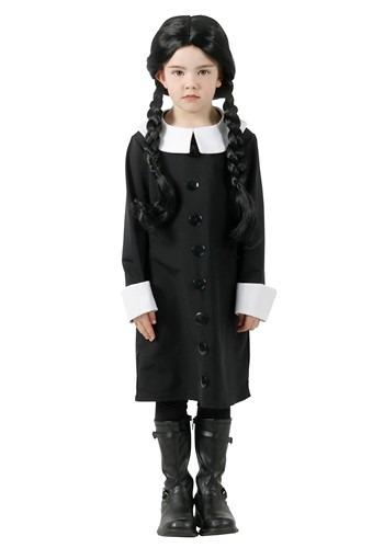 Kids Addams Family Wednesday Addams Costume