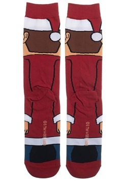 Christmas Vacation Clark Griswold 360 Character Crew Sock Al