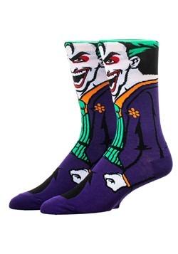 DC Joker Rebirth 360 Character Crew Sock