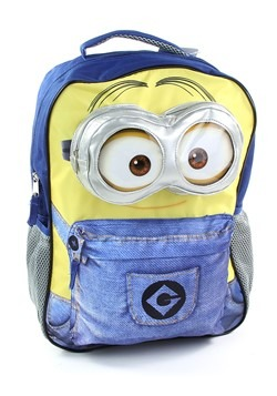 "Kids Minion 16"" Blue/Yellow Backpack"