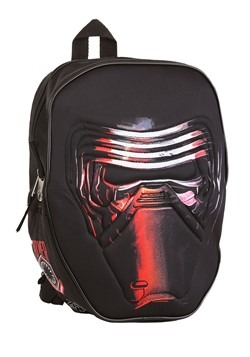 "Kids Star Wars Kylo 12"" Black Backpack"