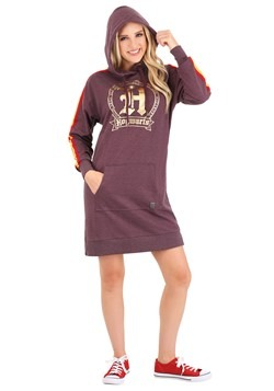 Harry Potter Hogwarts Hoodie Dress Alt 1