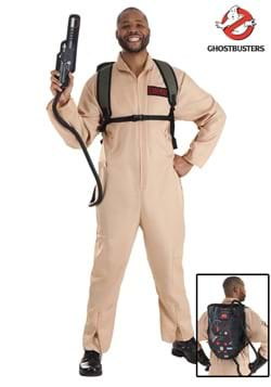 Ghostbusters Plus Size Men's Deluxe Costume