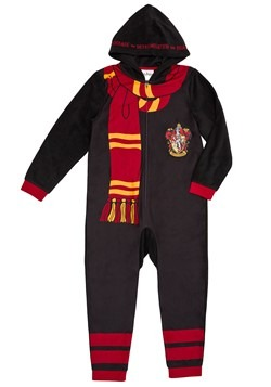 Harry Potter Kids Hooded Union Suit Costume