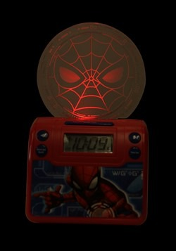 Spider-Man Classic Nightlight Alarm Clock w/ USB C Alt 3