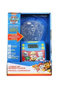 Paw Patrol Nightlight Alarm Clock w/ USB Charging