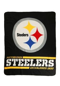 Pittsburgh Steelers NFL Fleece Split Wide Throw
