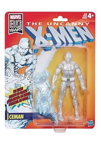 X-Men Legends Retro Iceman 6in Action Figure