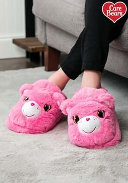 Adult Cheer Bear Care Bears Slippers