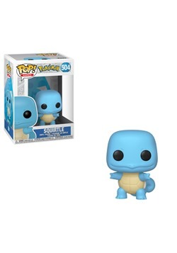 Pop! Games: Pokemon- Squirtle