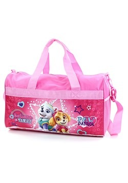 "Paw Patrol Girls 18"" Pink Duffel Bag"