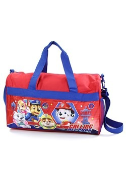 "Paw Patrol Boys 18"" Red/Blue Duffel Bag"
