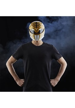 Power Rangers Lightning Collection Premium White Ranger Helm