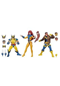 "Marvel Legends X-Men Jean Grey, Cyclops, and Wolverine 6"" Ac"
