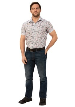 Stranger Things Adult Jim Hopper Hawaiian Costume