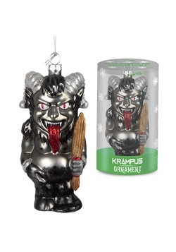 Krampus Glass Ornament