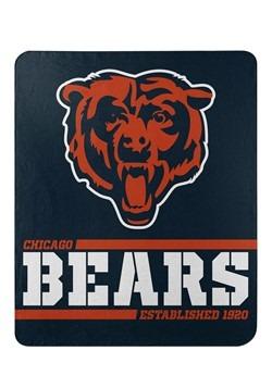 Chicago Bears Split Wide Fleece Throw