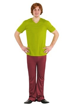 Plus Size Classic Scooby Doo Shaggy Costume 2