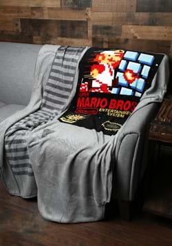 Super Mario Cartridge Shaped Fleece Throw_Update