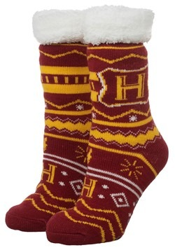 Harry Potter Hogwarts Cozy Slipper Sock