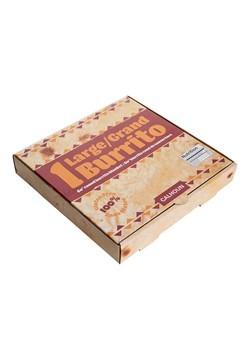 Burrito Tortilla Print Throw Blanket Alt 1