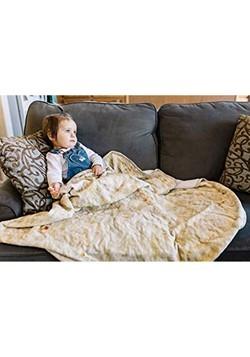 Burrito Tortilla Print Throw Blanket Alt 2