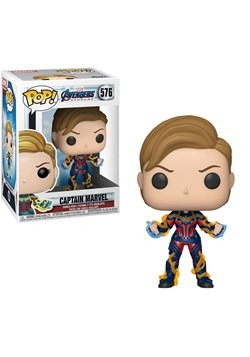 Pop! Marvel: Endgame - Captain Marvel w/ New Hair