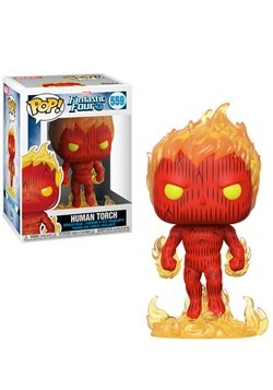 Pop! Marvel: Fantastic Four- Human Tourch Update